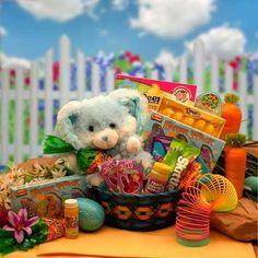 Drop Bunny Hugs Easter Gift Basket
