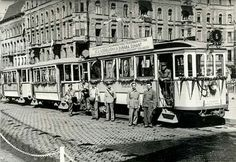 Tram Schlick in Budapest at about Old Pictures, Old Photos, Commercial Vehicle, Budapest Hungary, Historical Photos, Images, Street View, Marvel, History