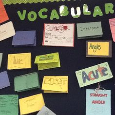 I saw this at KIPP Houston High School. Students were assigned to different vocab words. They created the word wall.
