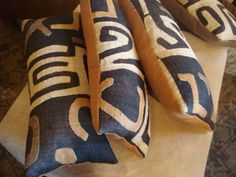 Decorative African Pillows & Bolsters