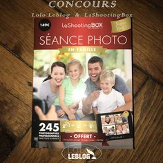 """CONCOURS LASHOOTINGBOX AVEC UN COFFRET NOËL """"EN FAMILLE"""""""