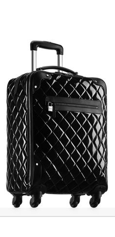 Chanel ~ Black Quilted Luggage