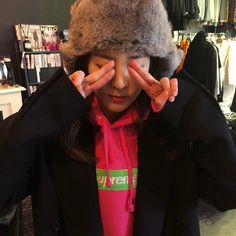 Sandara Park twitter update #Dara #flufffy