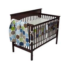 Mister Man's bedding.  DwellStudio® for Target® Dot Fun Blue 3 pc Baby Bedding Set by DWELL, http://www.amazon.com/dp/B0042F2NMM/ref=cm_sw_r_pi_dp_Mryjqb0DW5XGB