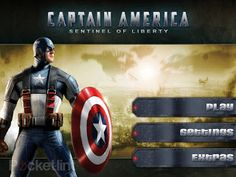 Free Captain America Android Game