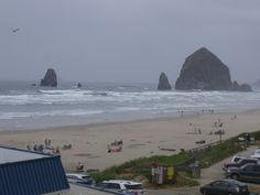 Haystack and Needles, Cannon Beach, Oregon.  A Travel Guide to Murder