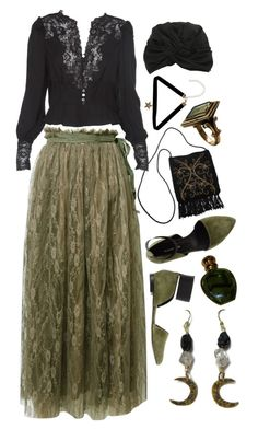 """""""Isabella, or the Pot of Basil"""" by gorimbaud ❤ liked on Polyvore featuring megumi ochi, Boohoo, Haute Hippie, Alex, Christian Dior, vintage, women's clothing, women's fashion, women and female"""
