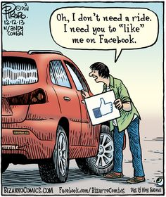 With a healthy mix of snarky, mockery, and memes, we have listed up 32 most entertaining social media jokes that are actually true. Funny Images, Funny Photos, Facebook Addiction, Bizarro Comic, Social Media Humor, Technology Humor, Facebook Humor, Facebook 9, Facebook Likes