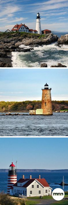 Traveling to Maine? Here are 10 of Maine's most interesting lighthouses - perfect for photo ops!