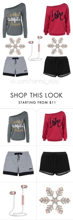 """Untitled #6"" by milana-topkaryan ❤ liked on Polyvore featuring beauty, adidas and Topshop"