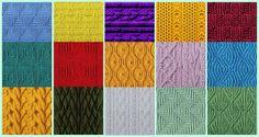 HelleN sims3: Knitted patterns.
