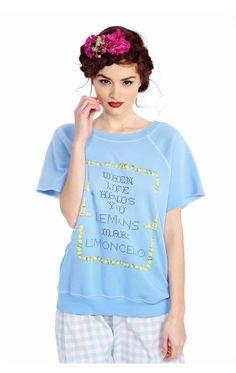 Make Limoncello Brit Pullover
