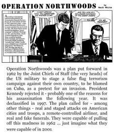 OPERATION NORTHWOODS... SOUND FAMILIAR? Operation Northwoods, Chief Of Staff, Conspiracy Theories, How To Plan, Memes, Fictional Characters, Google, Team Leader, Meme
