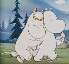 Moomin Valley, Tove Jansson, Cartoon Profile Pictures, Cartoon Icons, The Good Old Days, Wall Collage, Disney, Cute Cats, Cute Animals