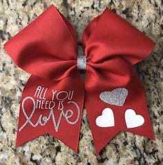 Cute Cheer Bows, Cheer Hair Bows, Big Hair Bows, Hair Ribbons, Making Hair Bows, Holiday Hair Bows, Christmas Bows, Bow Template, Hair Decorations