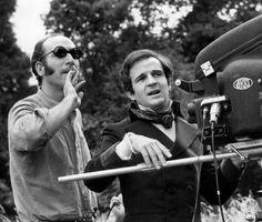 Néstor Almendros (director of photography) & François Truffaut