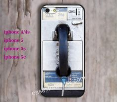 Phone 5 Case Pay Phone iPhone 5s Case Telephone by charmcover, $7.99