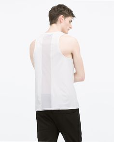 Perforated Tank top from Zara
