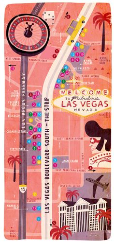 Welcome to Las Vegas Map -- FEV.2011    Priscila Boffo, Mauricio Pierro, Simone Saggioro