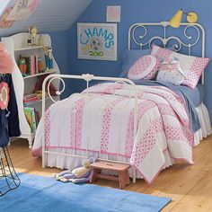 Perfect big girl bedding! And on clearance!