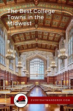 The best college towns in the Midwest that range from small college towns to the best college towns in America. Which of these Midwest colleges have you visited?