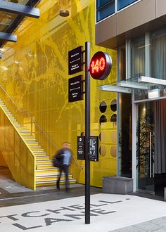 Fabio Ongarato Design is a multi-disciplinary design studio based in Australia Environmental Graphic Design, Environmental Graphics, Wayfinding Signage, Signage Design, Transport Public, Masterplan, Sign System, Outdoor Signage, Japanese Graphic Design