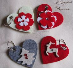Le Creazioni di Annucola - Felt Christmas Decorations