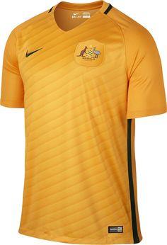 Nike divulga as novas camisas da Austrália - Show de Camisas Seleção Do  Mundo f08e9d9daac57
