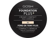 GOSH Foundation Plus + Creamy Compact High Coverage meikkivoide 9 g - Sokos verkkokauppa
