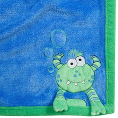 Babies R Us 3D Monster Plush Fashion Blanket