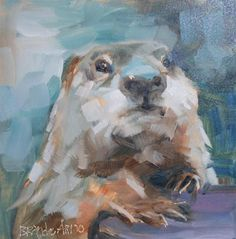 wedgeweasel!!!!!!!   love 'em…gg-------Daily Paintworks - Brande Arno