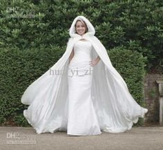 2013 Winter Wedding Cloak Cape