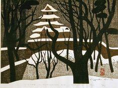 Kiyoshi Saito: Winter in Tsuruga-jyo Aizu Wakamatsu - Art Gallery of Greater Victoria