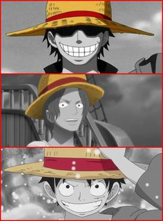 One Piece | Gold D. Roger, Shanks, Luffy | Hat's significance