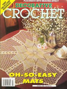Decorative Crochet Magazines 34 - Gitte Andersen - Веб-альбомы Picasa