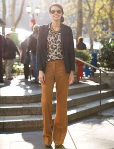 Digital Fashion WriterWhat I'm Wearing: Rag & Bone blazer, Equipment blouse, Diane von Furstenberg pants, Ray-Ban sunglasses and Marni heels.    On My Shopping List: More wide leg pants in bright colors to alleviate my winter doldrums.