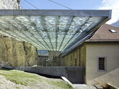 Savioz Fabrizze Architectes, Coverage of Archaeological Ruins of the Abbey of St. Maurice | Photo: Thomas Jantscher