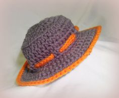 Want to work out how to make this one. Boys crochet summer hat.