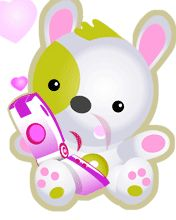 Download Animated lovely teddy gif - Cool animated wallpapers for your mobile cell phone