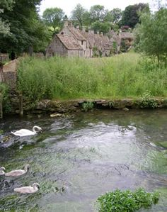 "Bibury -- ""The most beautiful village in England"", said William Morris, 19th-century artist and poet."