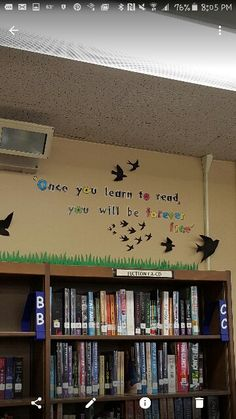 Another library display