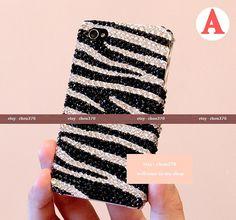 Zebra Stripes DIY Phone Case - Etsy.