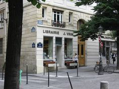 Librairie J. Vrin, Paris by ersatz_phil, via Flickr