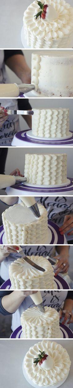 How to Frost a Petal Cake | Relish.com