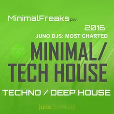 Juno DJs Most Charted Tracks August 2016 » Minimal Freaks Tech House Music, Minimal Techno, Deep, Minimalism, Track, Music Production, June, Musik, Runway
