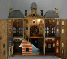 Carmel Doll Shop Dollhouse Research Study Page (pic 2/2 - exterior of this wonderful house pinned alongside)