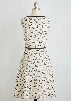 Bat's the Spirit! Dress | Mod Retro Vintage Dresses | ModCloth.com