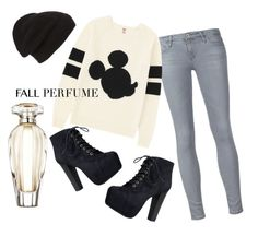 """Fall Perfume"" by cute-sicle ❤ liked on Polyvore featuring Uniqlo, Victoria's Secret, Speed Limit 98, Phase 3, Fall, mickeymouse and fallscent"