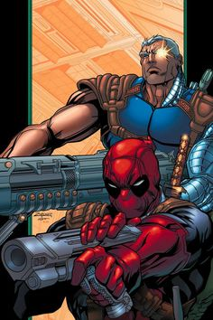 Buy Deadpool & Cable Ultimate Collection - Book 2 at Mighty Ape NZ. Deadpool finally gets hired for a job! There's a missing hard drive, and whoever gets it could very well own the world! Naturally, our Merc With a Mou. Cable Marvel, Marvel Dc Comics, Marvel Wolverine, Marvel Heroes, Dead Pool, Marvel Comic Books, Marvel Characters, Comic Book Collection, Book Posters