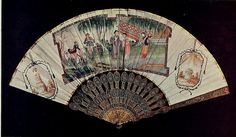 Vintage Fan: 18th Century Chinese